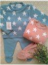 Conjunto polaina estrellas